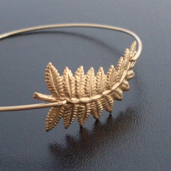 Autumn Fashion, Autumn Bracelet, Fern Bracelet, Fall Fashion, Fall Bracelet, Autumn Jewelry, Fern Bangle, Fern Jewelry, Fall Jewelry