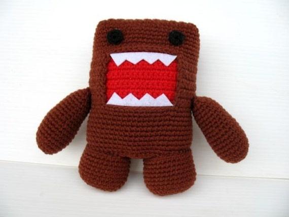 Crochet Pattern DOMO KUN PDF Toys