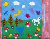 Fairy Scene -Fun Felt Playmat