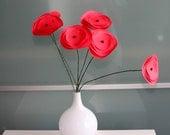 Popnculus Paper Flowers Bouquet, Home Decor, Paper Art, Handmade Flowers, Table Decor, Wedding Decoration, Dorn Decor