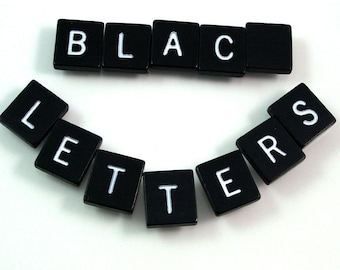 Black Letters - Choose your letters and quantity