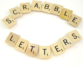 Scrabble Letters - Choose your letters and quantity