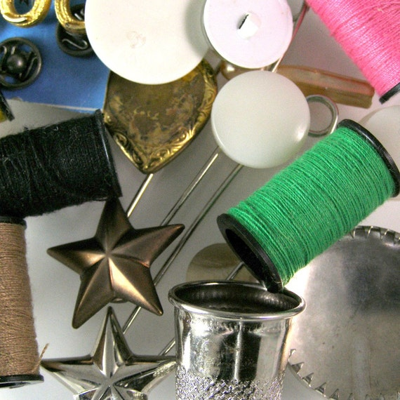 Odds & Ends from the sewing room