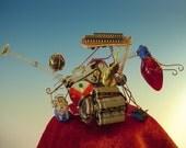 Solar Powered Bug Bot