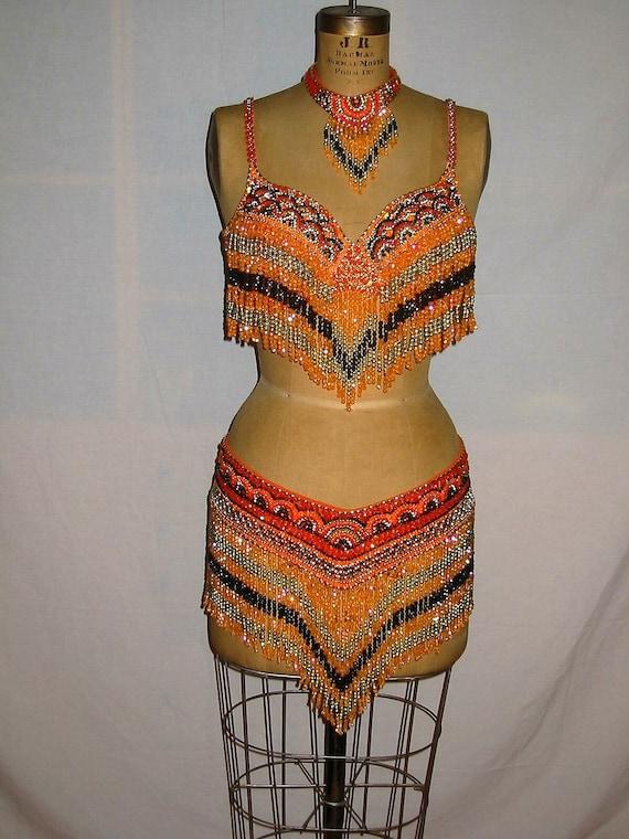 Cabaret Belly Dance Costume