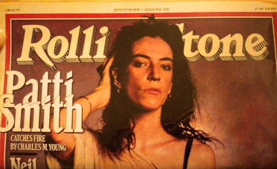 Patti Smith Pocket Planner for 2014-15