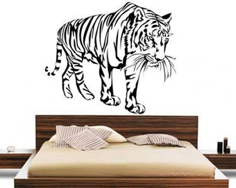 Tiger in the wood...wall decals