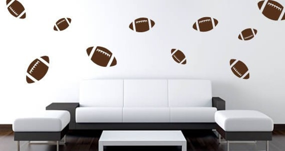 Football wall stickers (set of 16)