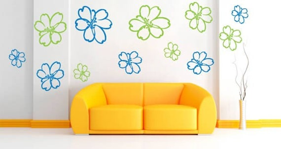 Fairy Flower Wall Decals