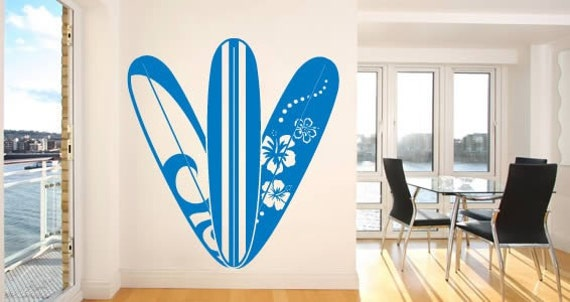 hawaii surfboard wall decals surf wall decals www galleryhip com the hippest pics