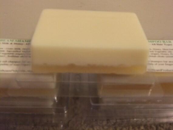 Goat's Milk & Honey Shampoo Bar