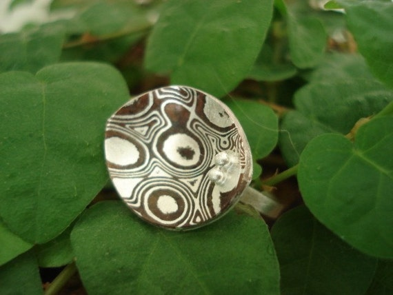 20% DONATION TO JAPAN - Wood Grain Ring
