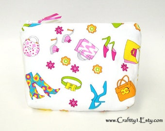 Girlie Accessories - Ladies Zip Pouch (SMALL)