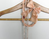 Necklace Freshwater Pearls Romantic Peach