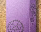 Kuroshitsuji, Sebastian's Seal - Mini Motif Notebook