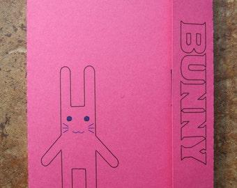 Tiger & Bunny Bunny Doll - Mini Motif Notebook