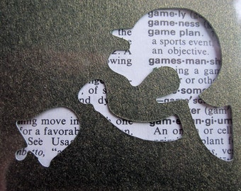 Mr. Game & Watch - Custom Cut Bookmark