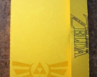 Legend of Zelda Hyrule Royal Crest - Mini Motif Notebook