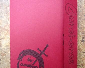 Tiger & Bunny's Ouroboros Logo - Mini Motif Notebook