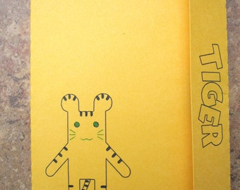 Tiger & Bunny style Tiger Doll (Yellow Ver.) - Mini Motif Notebook