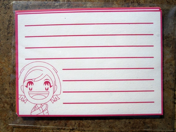 Cooking Mama Flat Notecards, 10 cards per set