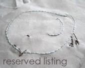 Custom Listing for Crazy Husky Crafts