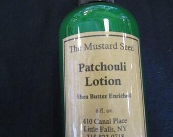 Patchouli Lotion