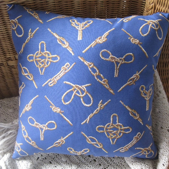 Nautical Knots Classic Handmade Pillow Decor