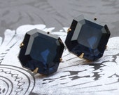 Montana Sapphire stud earrings - Only 1 pair left
