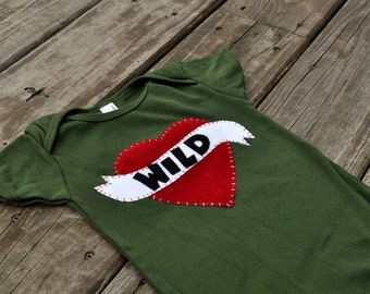 wild child onesie or tee