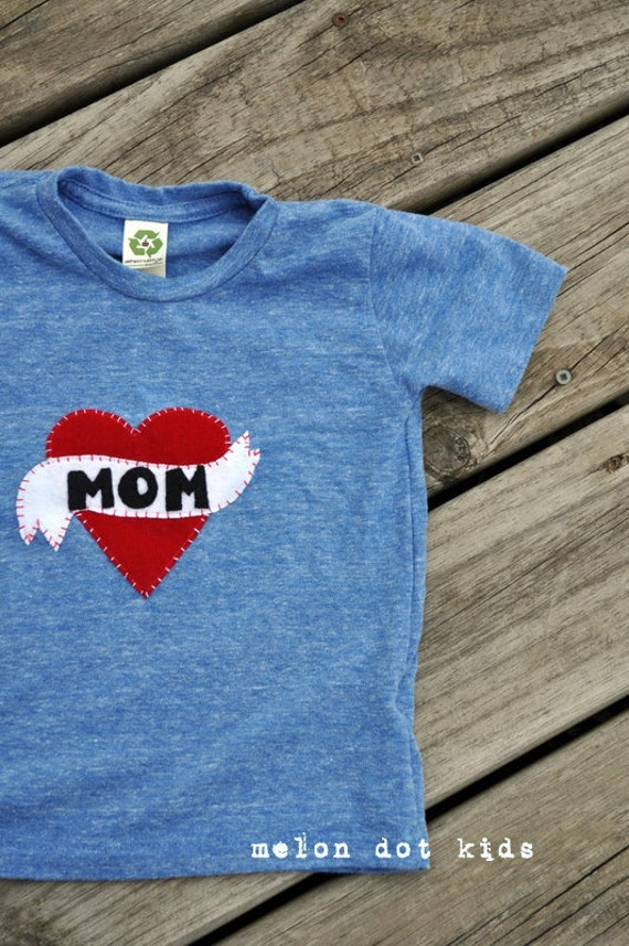 i heart mom or dad...a toddler tee