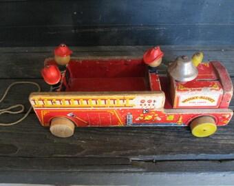Winky Blinky Firetruck 1954