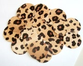 "Leopard Print Circle Confetti - 100 circle pieces - 1"" Circle Confetti - Birthday Party, Baby Shower, Bridal Shower Party Decoration"