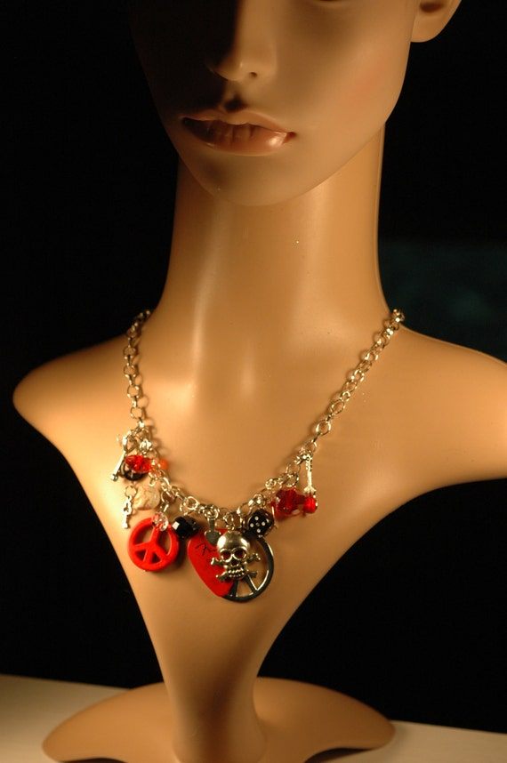 50% off Rocker Chic Charm Necklace