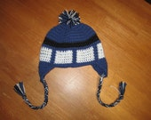 Doctor Who TARDIS Hat - RESERVED for pinkiepie005