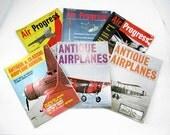 Vintage Airplanes Magazines ... six magazines