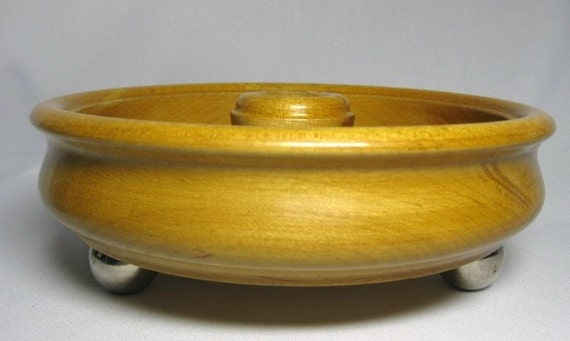 Wooden Bowl for a Sewing Caddy or Dresser Caddy