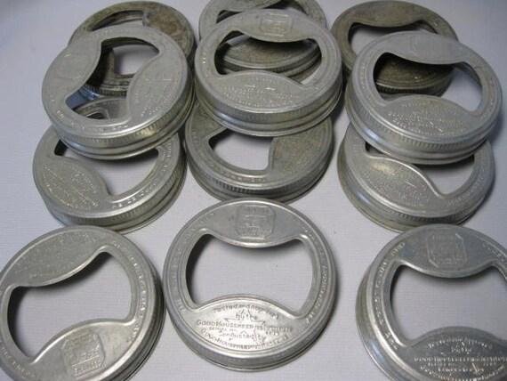 Vintage Presto Aluminum Canning Jar Rings ... Set of 12
