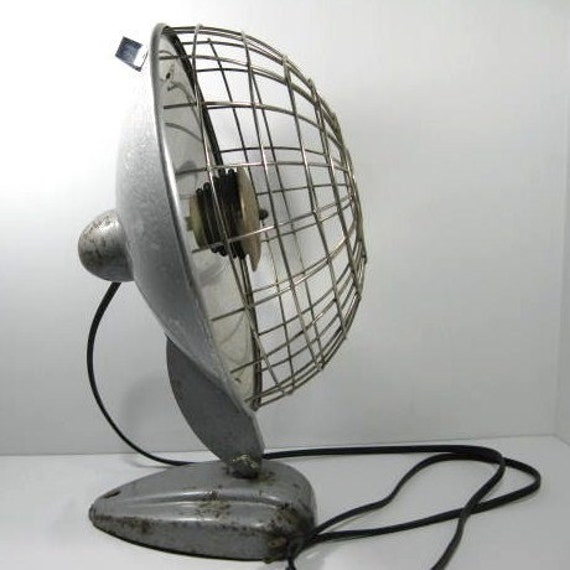 Focalipse Radiant Heater 1940's All Metal Industrial Looking vintage space heater