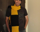 House of Hufflepuff inspired scarf