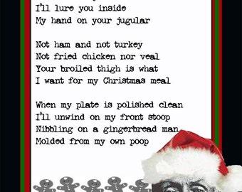 Albert Fish serial killer holiday card