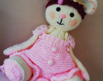 SALE! Flossy Dolly knitting pattern