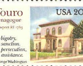 Touro Synagogue Postage Stamp 20 cent