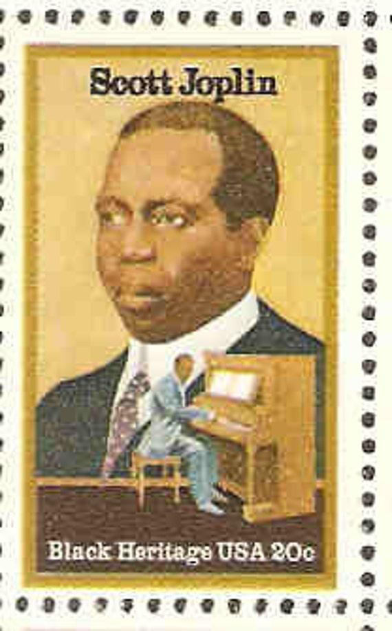 Scott Joplin Postage Stamps