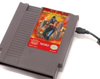 NES Hard Drive - Ninja Gaiden  USB 3.0