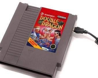 NES Hard Drive - Double Dragon  USB 3.0