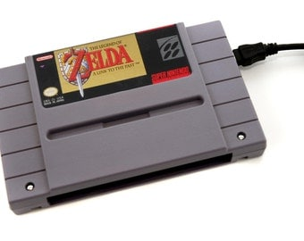 SNES Hard Drive - The Legend of Zelda  A Link to the Past  USB 3.0