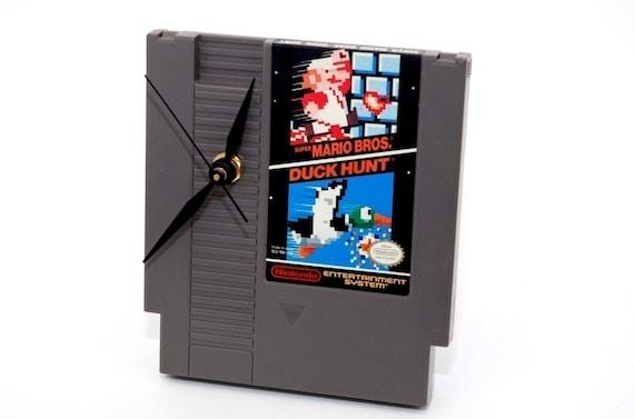 NES Desk Clock - Super Mario/Duck Hunt