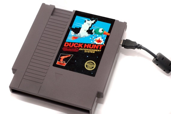 USB 3.0 NES Hard Drive - Duck Hunt