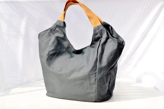 Travel Hobo Bag Holiday Accessories Spring Fall Fashion Office Canvas Large Luggage Blue Handbag Tote Ready to Ship Navy Bluebarian